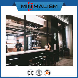 Building Material Aluminium Folding Window for Greenhouse/Commercial