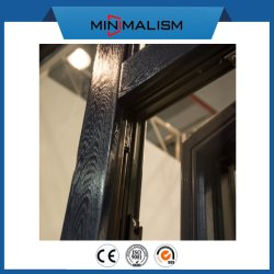 Customized Aluminium Casement Pushout Window for Export America