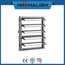 5mm Glass Louver Window with Aluminium Frame for Ventilation Automatic Shutter/Aluminum with Glass/Profile for Bathroom/Warehouse